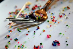 Fork with sprinkles. Matthew Reid/Flickr.com