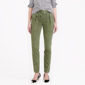 J. Crew's High-Rise Cargo Pant $69.99