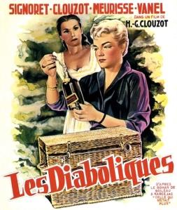 """""""Les Diaboliques"""" film poster"""