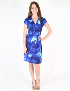 Matrushka Construction's Galaxy Wrap Dress $125